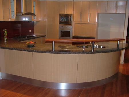Hia nsw kitchen and bathroom awards 2005 international for Bunnings in home kitchen design
