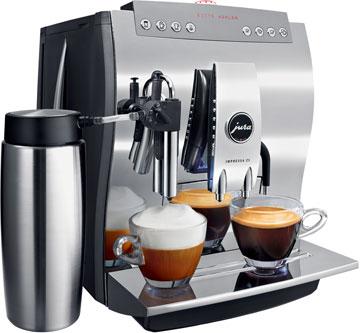 automatic coffee and espresso machine
