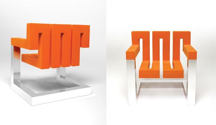 Zigzig chair international design awards for Chair design awards