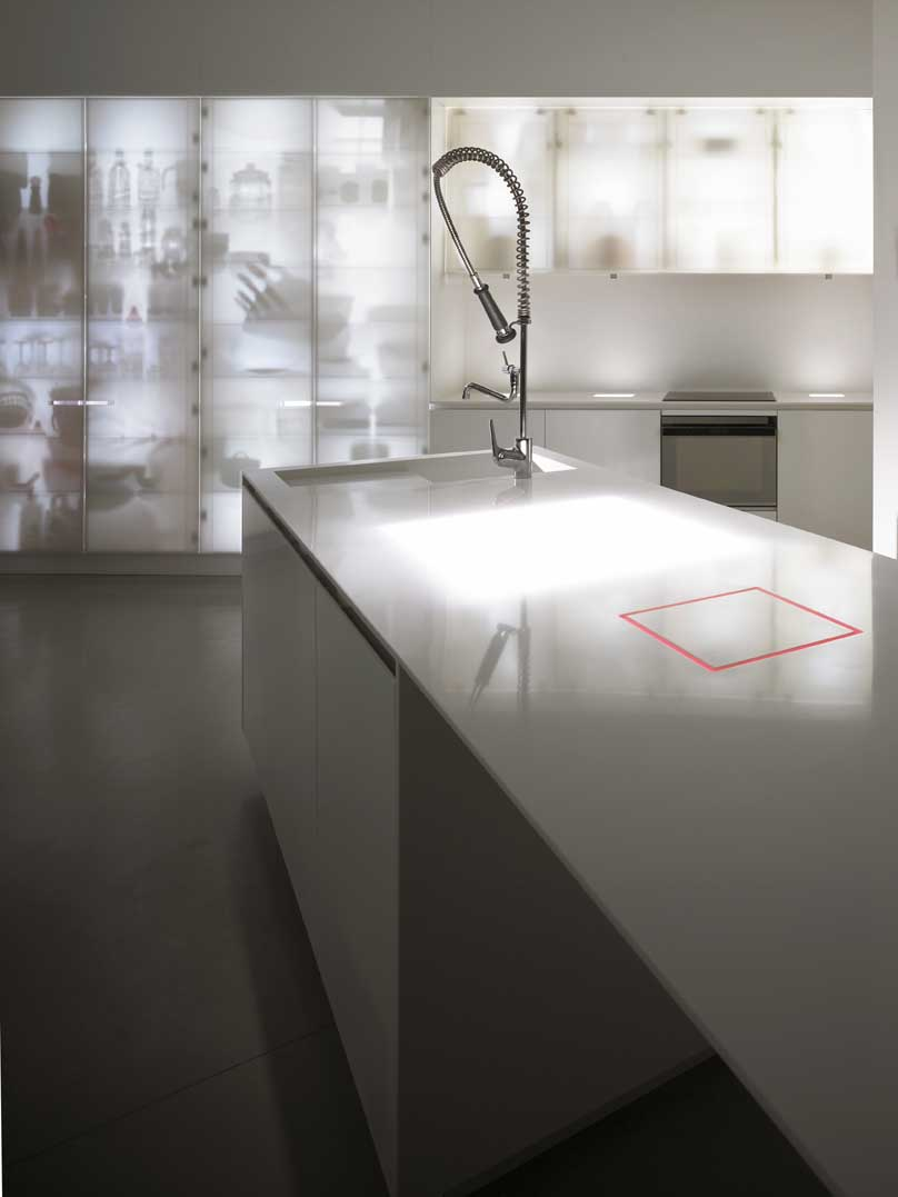 Corian Nouvel Lumieres Kitchen International Design Awards