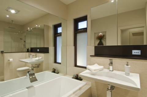 Bathroom Designs on Of Space In This Very Functional Bathroom  Urban Bathroom Concepts