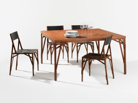 Allumette Chair and Table