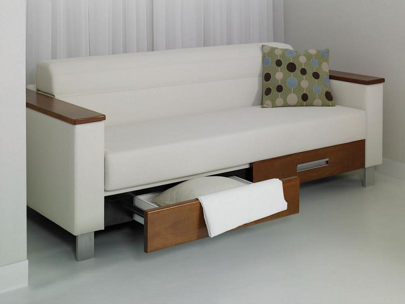 Grand island sleeper sofa international design awards - Sofas con cajones ...