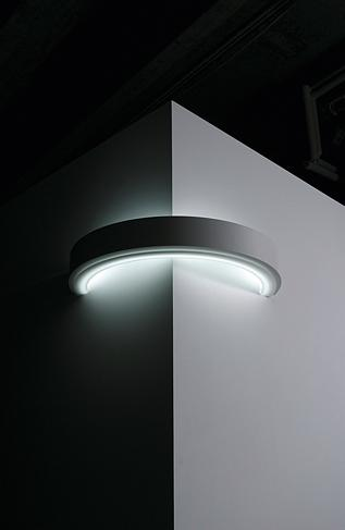 Corner Wall Light Fixture : Circolo Light Series International Design Awards